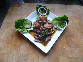 Seared Fillet of beef in a Thai Vinaigrette by M. Kuehn
