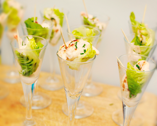Prawn cocktail canapes by M Kuehn
