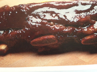 Sticky ribs with date syrup