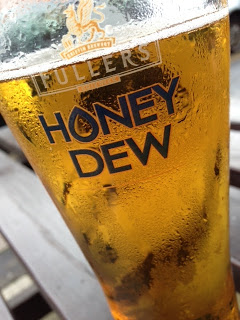 Fuller's Organic Honey Dew Ale at The Griffin, Brentford by Michael R. Goss