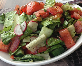 Spicy Lebanese Salad by M. Kuehn