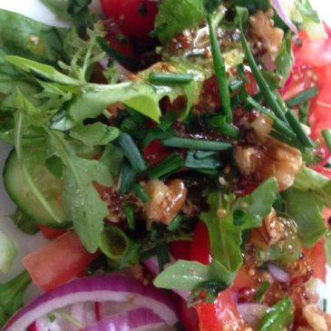 Walnut Salad by M. Kuehn