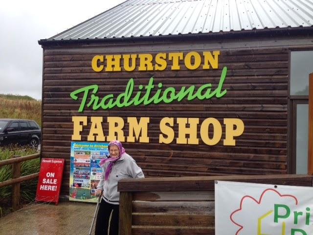 Churston Traditional Farm Shop, Devon by Michael R. Goss
