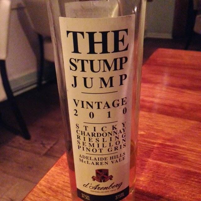 The Stump Jump Dessert Wine 2010 by M. Kuehn