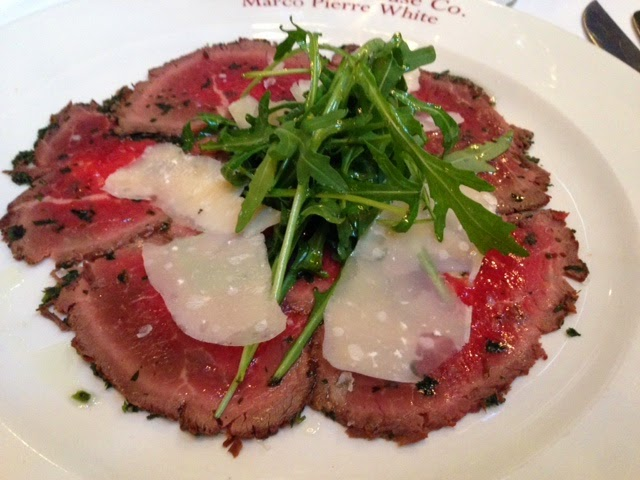 Marco Pierre White's Steak and AleHouse – like the girl with the curl by Maria Kuehn