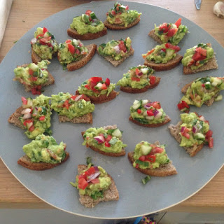 Spicy Avocado Canapes by M. Kuehn